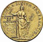 Photo numismatique  ARCHIVES VENTE 2015 -26-28 oct -Coll Jean Teitgen ROYALES FRANCAISES LOUIS XIV (14 mai 1643-1er septembre 1715)  430- Lot de 7 jetons dont jeton en or de Thionville.