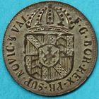 Photo numismatique  MONNAIES MONNAIES DU MONDE SUISSE NEUFCHÂTEL Demi Batzen ou 2 Kreutzer de 1791. Sous Fr. Guillaume de Prusse (1786-1797).