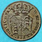 Photo numismatique  MONNAIES MONNAIES DU MONDE SUISSE NEUFCHÂTEL Demi Batzen ou 2 Kreutzer de 1800.
