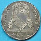 Photo numismatique  MONNAIES MONNAIES DU MONDE SUISSE ZURICH, canton 40 Batzen de 1813.
