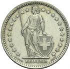 Photo numismatique  MONNAIES MONNAIES DU MONDE SUISSE CONFEDERATION 2 francs de 1958, 1963.
