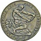 Photo numismatique  ARCHIVES VENTE 2015 -26-28 oct -Coll Jean Teitgen MODERNES FRANÇAISES MONNAIES DE CONFIANCE (1791-1793)  508- Lot de 2 monnaies, sol et 5 sols de Monneron.