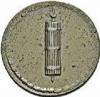 Photo numismatique  ARCHIVES VENTE 2015 -26-28 oct -Coll Jean Teitgen MODERNES FRANÇAISES MONNAIES DE CONFIANCE (1791-1793)  517- Bon pour 100 châssis, (1792), essai de monnayage.