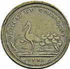 Photo numismatique  ARCHIVES VENTE 2015 -26-28 oct -Coll Jean Teitgen MODERNES FRANÇAISES MONNAIES DE CONFIANCE (1791-1793)  519- Essai républicain de Dupré à la grue, (1793).