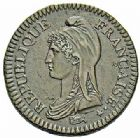 Photo numismatique  ARCHIVES VENTE 2015 -26-28 oct -Coll Jean Teitgen MODERNES FRANÇAISES LE DIRECTOIRE (27 octobre 1795-10 novembre 1799)  526- 2 décimes, Paris an 4.