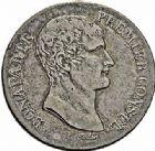 Photo numismatique  ARCHIVES VENTE 2015 -26-28 oct -Coll Jean Teitgen MODERNES FRANÇAISES LE CONSULAT (à partir du 24 décembre 1799-18 mai 1804)  532- 5 francs, Paris an XI, an 12.