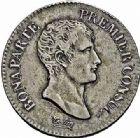 Photo numismatique  ARCHIVES VENTE 2015 -26-28 oct -Coll Jean Teitgen MODERNES FRANÇAISES LE CONSULAT (à partir du 24 décembre 1799-18 mai 1804)  533- 2 francs, Paris an 12.