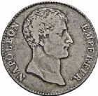 Photo numismatique  ARCHIVES VENTE 2015 -26-28 oct -Coll Jean Teitgen MODERNES FRANÇAISES NAPOLEON Ier, empereur (18 mai 1804- 6 avril 1814)  537- 5 francs, Paris an 12.