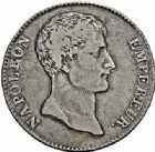 Photo numismatique  ARCHIVES VENTE 2015 -26-28 oct -Coll Jean Teitgen MODERNES FRANÇAISES NAPOLEON Ier, empereur (18 mai 1804- 6 avril 1814)  537- 5 francs, Paris an 12.