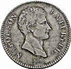 Photo numismatique  ARCHIVES VENTE 2015 -26-28 oct -Coll Jean Teitgen MODERNES FRANÇAISES NAPOLEON Ier, empereur (18 mai 1804- 6 avril 1814)  538- 2 francs, Lille an 13.