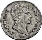 Photo numismatique  ARCHIVES VENTE 2015 -26-28 oct -Coll Jean Teitgen MODERNES FRANÇAISES NAPOLEON Ier, empereur (18 mai 1804- 6 avril 1814)  539- Franc, 1/2 franc et Quart, Paris an 13.