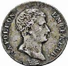 Photo numismatique  ARCHIVES VENTE 2015 -26-28 oct -Coll Jean Teitgen MODERNES FRANÇAISES NAPOLEON Ier, empereur (18 mai 1804- 6 avril 1814)  539- Franc, 1/2 franc et Quart, Paris an 13.