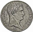 Photo numismatique  ARCHIVES VENTE 2015 -26-28 oct -Coll Jean Teitgen MODERNES FRANÇAISES NAPOLEON Ier, empereur (18 mai 1804- 6 avril 1814)  540- 5 francs, Paris an 13.