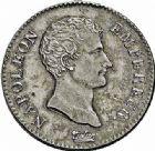 Photo numismatique  ARCHIVES VENTE 2015 -26-28 oct -Coll Jean Teitgen MODERNES FRANÇAISES NAPOLEON Ier, empereur (18 mai 1804- 6 avril 1814)  2 francs, Paris 1806.