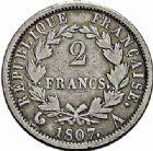 Photo numismatique  ARCHIVES VENTE 2015 -26-28 oct -Coll Jean Teitgen MODERNES FRANÇAISES NAPOLEON Ier, empereur (18 mai 1804- 6 avril 1814)  544- 2 francs «Tête de nègre», Paris 1807.