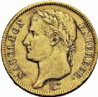 Photo numismatique  ARCHIVES VENTE 2015 -26-28 oct -Coll Jean Teitgen MODERNES FRANÇAISES NAPOLEON Ier, empereur (18 mai 1804- 6 avril 1814)  546- 40 francs or, Paris 1808.