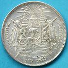Photo numismatique  MONNAIES MONNAIES DU MONDE THAÏLANDE RAMA V (1868-1910) Baht de 1906.