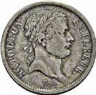 Photo numismatique  ARCHIVES VENTE 2015 -26-28 oct -Coll Jean Teitgen MODERNES FRANÇAISES NAPOLEON Ier, empereur (18 mai 1804- 6 avril 1814)  548- 5 francs, Rouen 1808 - 2 francs, Paris 1808.