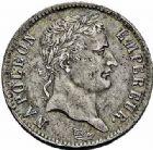 Photo numismatique  ARCHIVES VENTE 2015 -26-28 oct -Coll Jean Teitgen MODERNES FRANÇAISES NAPOLEON Ier, empereur (18 mai 1804- 6 avril 1814)  549- Franc, Rouen 1808 - Demi-franc, Paris 1808.