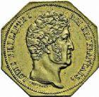 Photo numismatique  ARCHIVES VENTE 2015 -26-28 oct -Coll Jean Teitgen MONNAIES OBSIDIONALES ANVERS. Siège de la citadelle 1832  620- Jeton octogonal de siège.