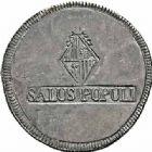 Photo numismatique  ARCHIVES VENTE 2015 -26-28 oct -Coll Jean Teitgen MONNAIES OBSIDIONALES BALÉARES (Iles des). Guerre d'Espagne  621- Ferdinand VII, 30 sous ou 8 reales, 1821, Majorque.
