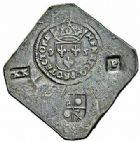 Photo numismatique  ARCHIVES VENTE 2015 -26-28 oct -Coll Jean Teitgen MONNAIES OBSIDIONALES CAMBRAI. Assiégée par les Espagnols, 1595  625- Pièce de 20patards.