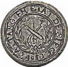 Photo numismatique  ARCHIVES VENTE 2015 -26-28 oct -Coll Jean Teitgen MONNAIES OBSIDIONALES CATTARO. Assiégée par les anglais, 1813  629- Pièce de cinq francs, 1813.