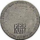 Photo numismatique  ARCHIVES VENTE 2015 -26-28 oct -Coll Jean Teitgen MONNAIES OBSIDIONALES GÉRONE. Guerre d'Espagne, assiégée par les Français, 1808  631- Pièce de un duro (5 pesetas) au nom de Ferdinand VII.