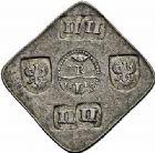 Photo numismatique  ARCHIVES VENTE 2015 -26-28 oct -Coll Jean Teitgen MONNAIES OBSIDIONALES JULIERS. Assiégée par le prince Maurice de Nassau, 1610  633- Pièce de II II livres (4 livres ou florins).