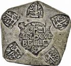 Photo numismatique  ARCHIVES VENTE 2015 -26-28 oct -Coll Jean Teitgen MONNAIES OBSIDIONALES JULIERS. Assiégée par les Espagnols, 1621  634- 1/4 rijksdaaler ou pièce de 20 sols.