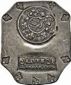 Photo numismatique  ARCHIVES VENTE 2015 -26-28 oct -Coll Jean Teitgen MONNAIES OBSIDIONALES LANDAU. Assiégée par les Impériaux, 1702  637- Pièce de 2 livres 2 sols de production allemande.