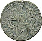 Photo numismatique  ARCHIVES VENTE 2015 -26-28 oct -Coll Jean Teitgen MONNAIES OBSIDIONALES MAASTRICHT. Assiégée par les Espagnols. Émission de juin 1579.   649- Pièce de 40 stuiver.