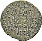 Photo numismatique  ARCHIVES VENTE 2015 -26-28 oct -Coll Jean Teitgen MONNAIES OBSIDIONALES MAASTRICHT. Assiégée par les Espagnols. Émission de juin 1579.   651- Pièce de 8 stuiver.