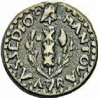 Photo numismatique  ARCHIVES VENTE 2015 -26-28 oct -Coll Jean Teitgen MONNAIES OBSIDIONALES MANTOUE. Assiégée par les Autrichiens, 1799  655- Pièces de 1Soldo (2).