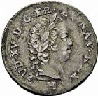 Photo numismatique  ARCHIVES VENTE 2015 -26-28 oct -Coll Jean Teitgen COLONIES FRANCAISES (1640-1843) LOUIS XV (1er septembre 1715-10 mai 1774) Colonies. Antilles. Isles sous le Vent 679- 6 sols, 1731.