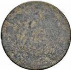 Photo numismatique  ARCHIVES VENTE 2015 -26-28 oct -Coll Jean Teitgen COLONIES FRANCAISES (1640-1843) LOUIS XVI (10 mai 1774–21 janvier 1793) Colonies générales 684- Sol tampé ou estampé (10 décembre 1779).