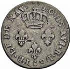 Photo numismatique  ARCHIVES VENTE 2015 -26-28 oct -Coll Jean Teitgen COLONIES FRANCAISES (1640-1843) LOUIS XVI (10 mai 1774–21 janvier 1793) Iles de France et Bourbon 686- 3 sols, 1779 - 3 sous, 1781.