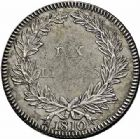 Photo numismatique  ARCHIVES VENTE 2015 -26-28 oct -Coll Jean Teitgen COLONIES FRANCAISES (1640-1843) NAPOLEON Ier EMPEREUR (18 mai 1804-6 avril 1814 - 1815) Ile de France et Bonaparte 691- 10 Livres « Piastre Decaen », 1810.