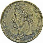 Photo numismatique  ARCHIVES VENTE 2015 -26-28 oct -Coll Jean Teitgen COLONIES FRANCAISES (1640-1843) CHARLES X (16 septembre 1824-2 août 1830) Colonies générales 693- 10 centimes pour la Guyane et le Sénégal, 1825.