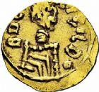 Photo numismatique  ARCHIVES VENTE 2015 -26-28 oct -Coll Jean Teitgen METZ ET SA REGION de la GAULE aux CAROLINGIENS CITES MEROVINGIENNES DE MOSELLE DIEUZE (Dosus Vicus) 730- Triens du monétaire Boccigildo, (vers 620-640).