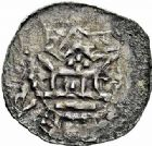 Photo numismatique  ARCHIVES VENTE 2015 -26-28 oct -Coll Jean Teitgen EVECHE DE METZ ADALBERON II (984-1004) et OTTON III (983-1002)  741- Denier sans titre.