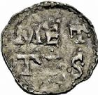 Photo numismatique  ARCHIVES VENTE 2015 -26-28 oct -Coll Jean Teitgen ÉVECHE DE METZ THIERRY II (1005-1047) et HENRI II roi puis empereur (1002-1014-1024)  746- Denier autonome, bilinéaire.
