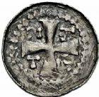 Photo numismatique  ARCHIVES VENTE 2015 -26-28 oct -Coll Jean Teitgen ÉVECHE DE METZ MONNAYAGE ANONYME (XIIe siècle)  755- Denier.