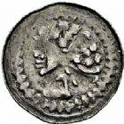 Photo numismatique  ARCHIVES VENTE 2015 -26-28 oct -Coll Jean Teitgen EVECHE DE METZ MONNAYAGE ANONYME (XIIe siècle)  755- Denier.