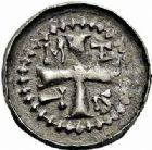 Photo numismatique  ARCHIVES VENTE 2015 -26-28 oct -Coll Jean Teitgen ÉVECHE DE METZ MONNAYAGE ANONYME (XIIe siècle)  756- Denier. Autre exemplaire varié.