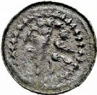 Photo numismatique  ARCHIVES VENTE 2015 -26-28 oct -Coll Jean Teitgen EVECHE DE METZ MONNAYAGE ANONYME (XIIe siècle)  756- Denier. Autre exemplaire varié.