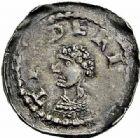 Photo numismatique  ARCHIVES VENTE 2015 -26-28 oct -Coll Jean Teitgen EVECHE DE METZ THIERRY IV de Lorraine (1173-1179)  767- Denier, Metz.