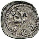 Photo numismatique  ARCHIVES VENTE 2015 -26-28 oct -Coll Jean Teitgen EVECHE DE METZ JACQUES de Lorraine (1239-1260)  781- Denier, Metz, 1er type.