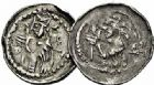 Photo numismatique  ARCHIVES VENTE 2015 -26-28 oct -Coll Jean Teitgen EVECHE DE METZ JACQUES de Lorraine (1239-1260)  782- Deniers (4), Metz, 1er type.