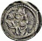Photo numismatique  ARCHIVES VENTE 2015 -26-28 oct -Coll Jean Teitgen EVECHE DE METZ Epoque de PHILIPPE à JEAN (1260-1282)  786- Denier, Épinal.